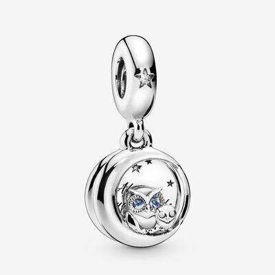 Charm Pendant Toujours A Tes Cotes Pandora Bracelet Charms Silver Owl Pendant Sterling Silver Owl