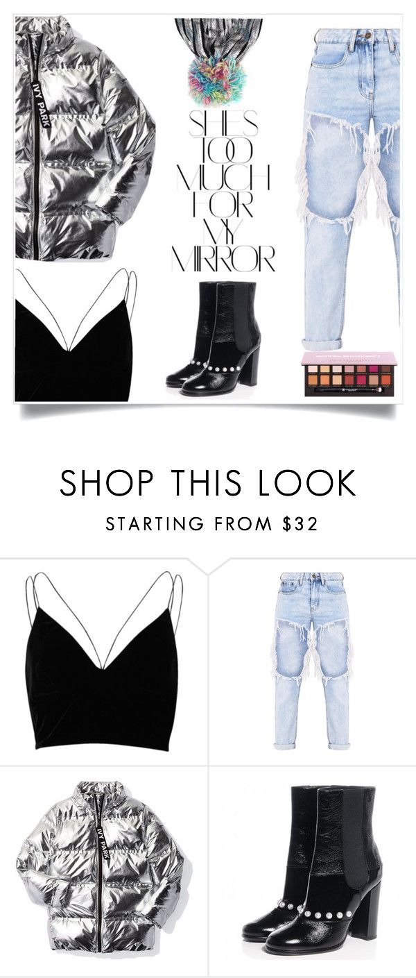 """""""baby 864"""" by giihcupcake ❤ liked on Polyvore featuring River Island, Ivy Park, Chanel and Rika"""
