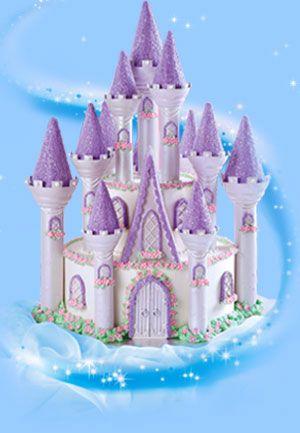 wilton castle cake in purple | girl things- | pinterest | more