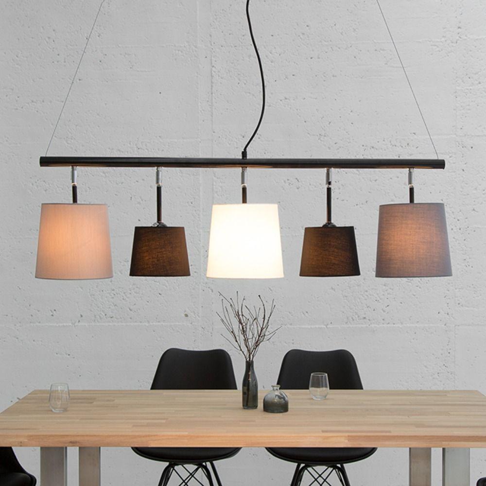 Moderne Hangeleuchte 100cm Braun Riess Ambiente De Esstisch Beleuchtung Deckenlampe Esszimmer Hangeleuchte