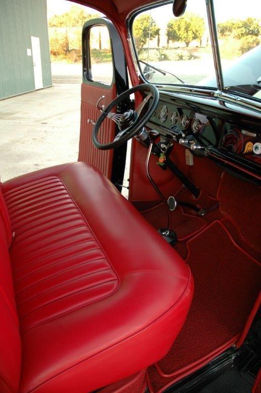 1940 Ford Custom Pick Up For Sale Orange California Old Car Online Automotive Upholstery Custom Car Interior Cars Trucks