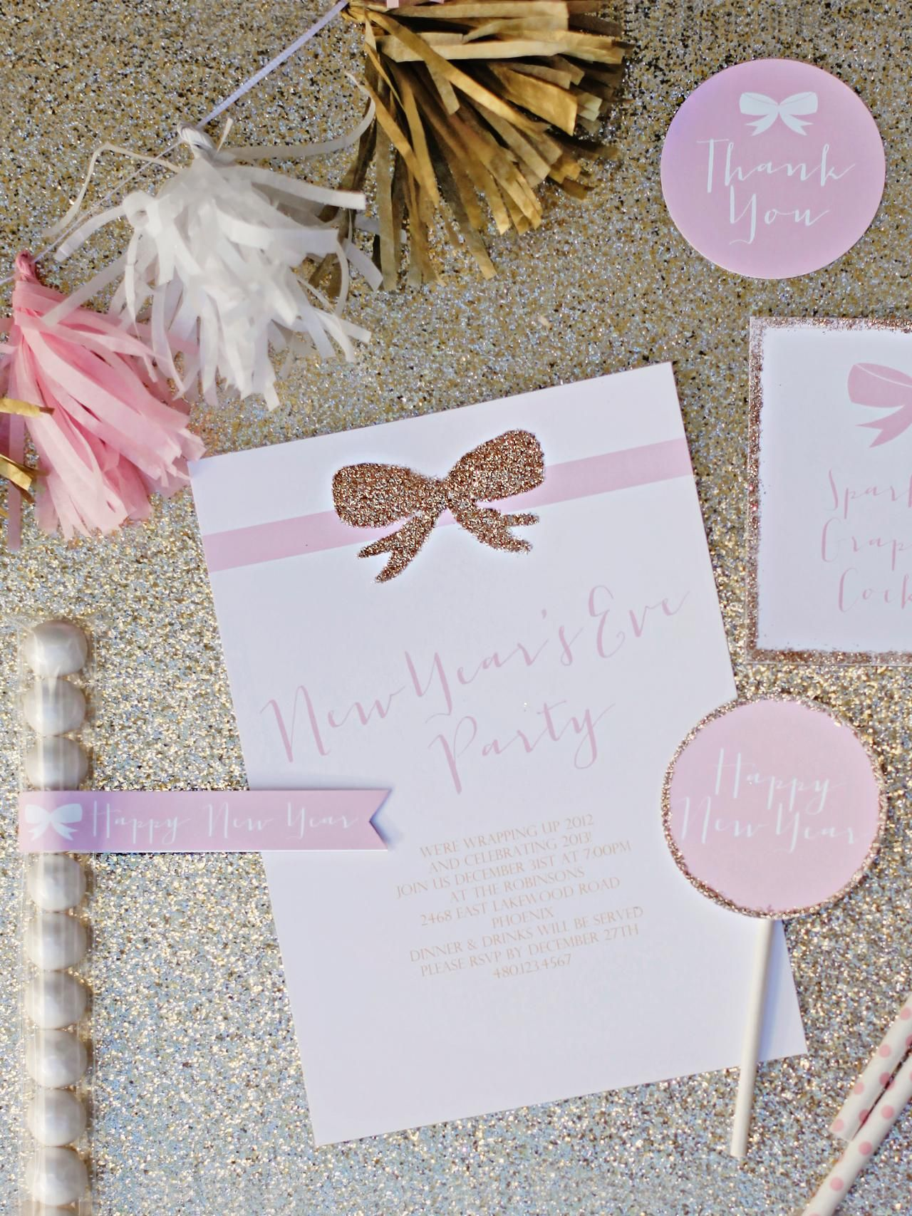 New Year\'s Eve Party | Ideas party, Golden birthday and Birthdays