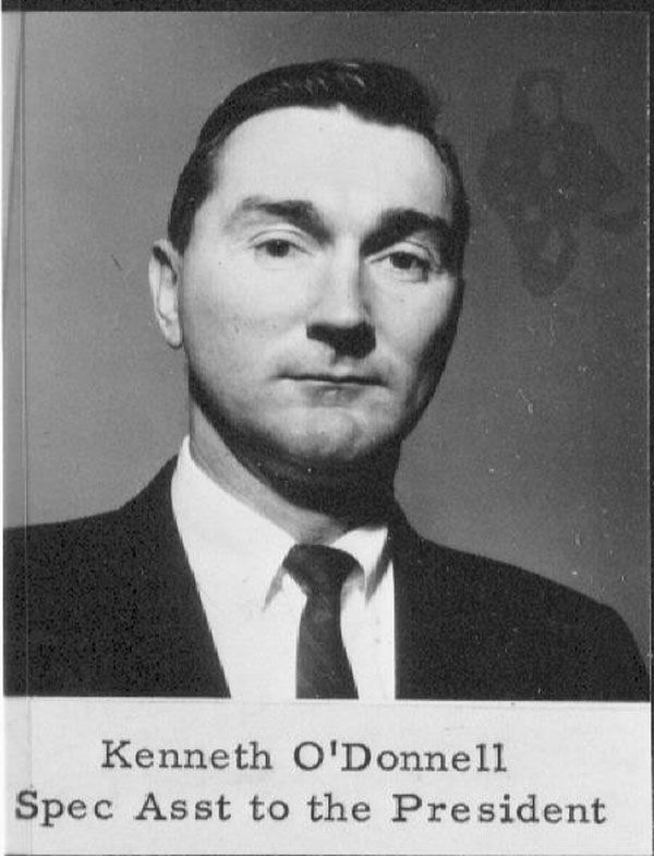 Kenneth Patrick Kenny ODonnell March September - Wiki us presidents