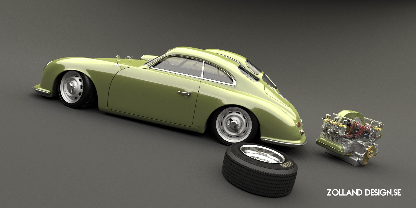 Porsche 356 Outlaw Custom By Bo Zolland Transportation