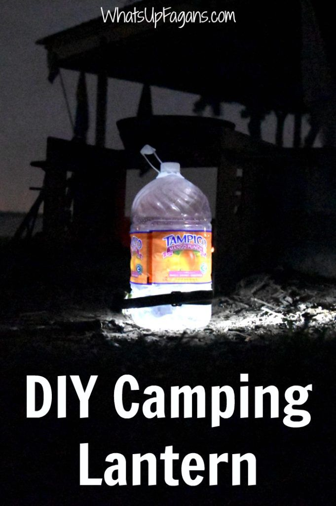 How To Make A DIY Camping Lantern Very Cool And Easy Hack Tip