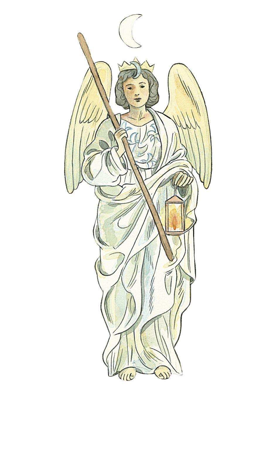Anjo Haniel Anjos Arcanjo E Nomes De Deus