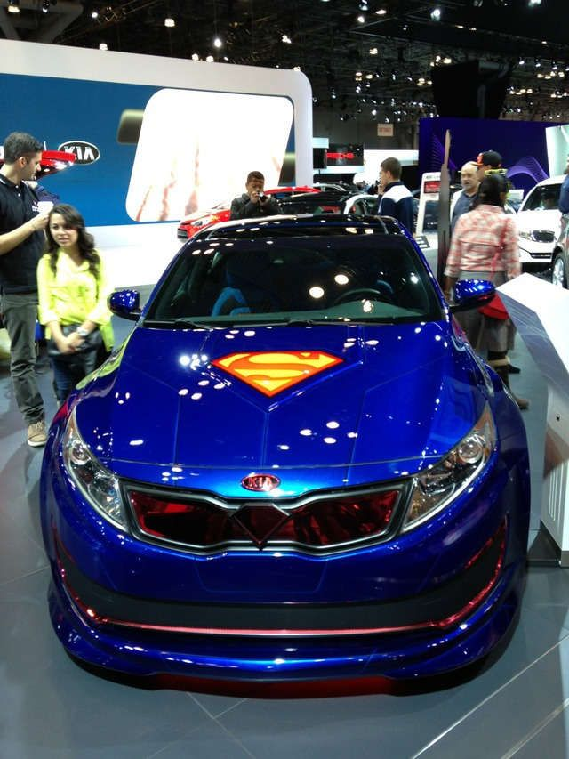 Superhero Themed Cars