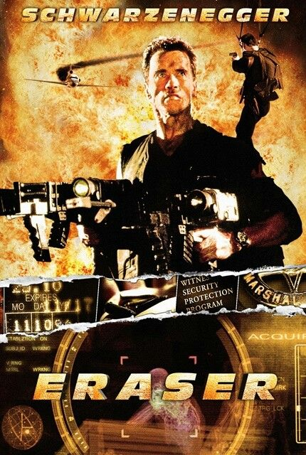 Arnold Schwarzenegger Eraser Classic Movies Movie Collection Arnold Schwarzenegger