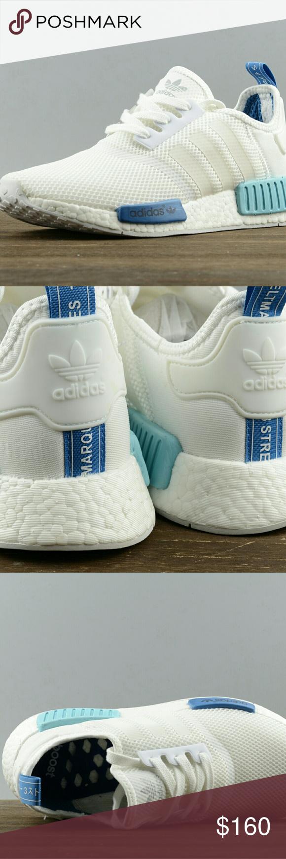 adidas nmd r1 impulso san paolo bianco blu s75235 dimensioni: 5 11; colore
