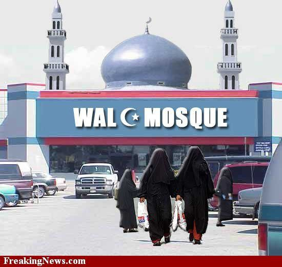 A Walmart manager in Hamburg, NY is in hot water with CAIR - what - halloween decorations at walmart