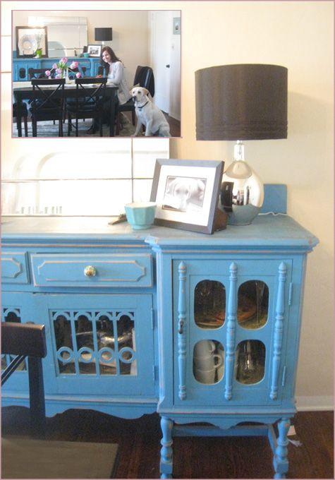 Before After DIY Handmade Furniture Dining Room Sideboard Credenza