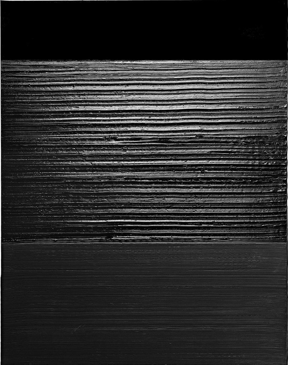 Pierre Soulages | Романское искусство, Искусство и Картины Оп Арт Живопись