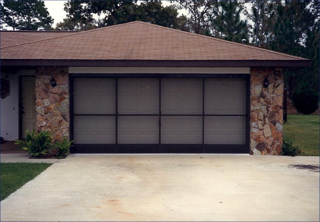 Garage Door Screen Kits Privacy With Excellent Outward Visibility