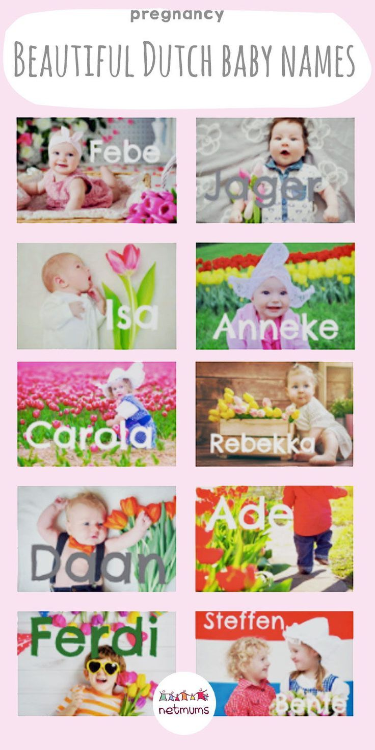 Find a Name for your Baby!   Dutch baby names, Dutch baby ...
