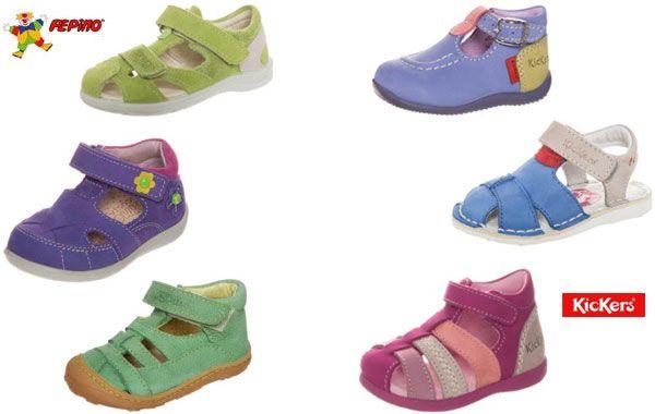 4f07e4686 Sandalias para niños Pepino y Kickers