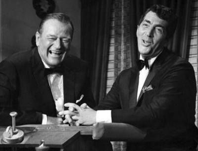 Image result for john wayne and dean martin