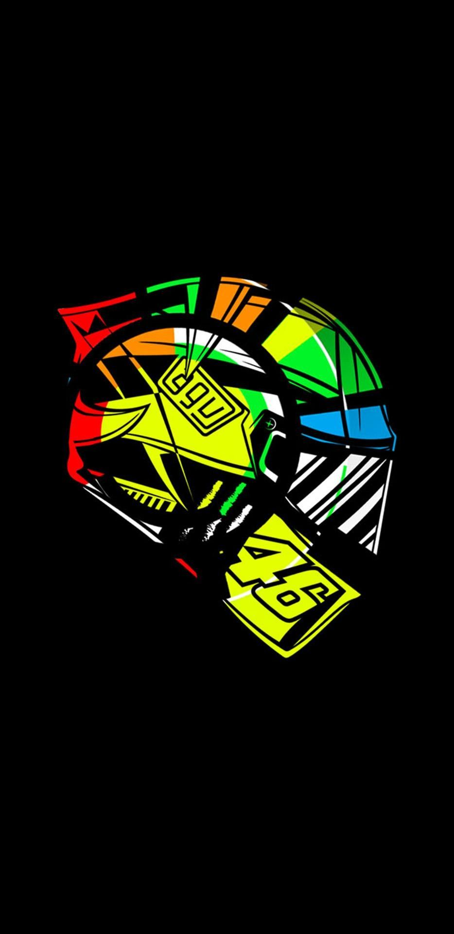 46 29 Yamaha Stickers VR46 Rossi