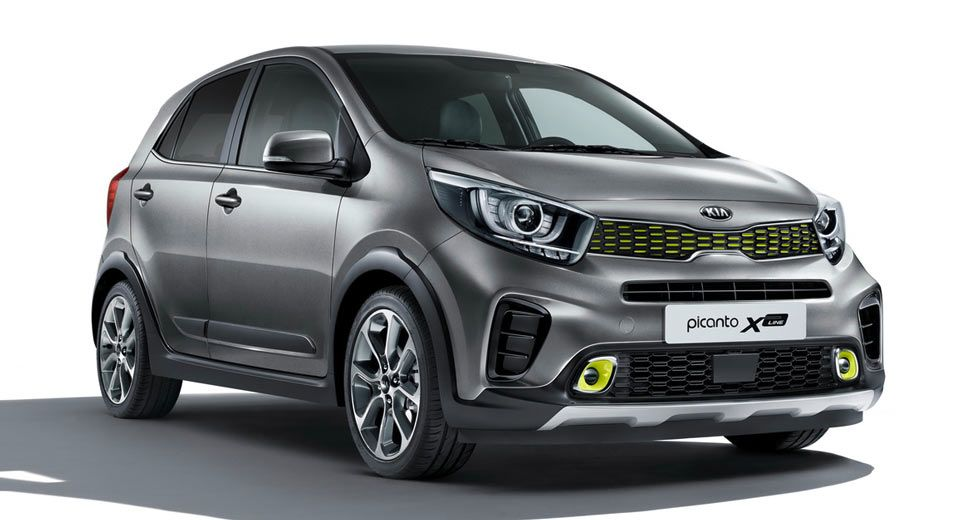 New Kia Picanto X Line Gets New Engine Styling Elevated Ground Clearance Carscoops In 2020 Kia Picanto Picanto Kia