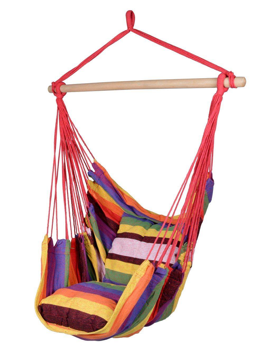 Tms canvas hanging chair outdoor porch swing yard tree hammock