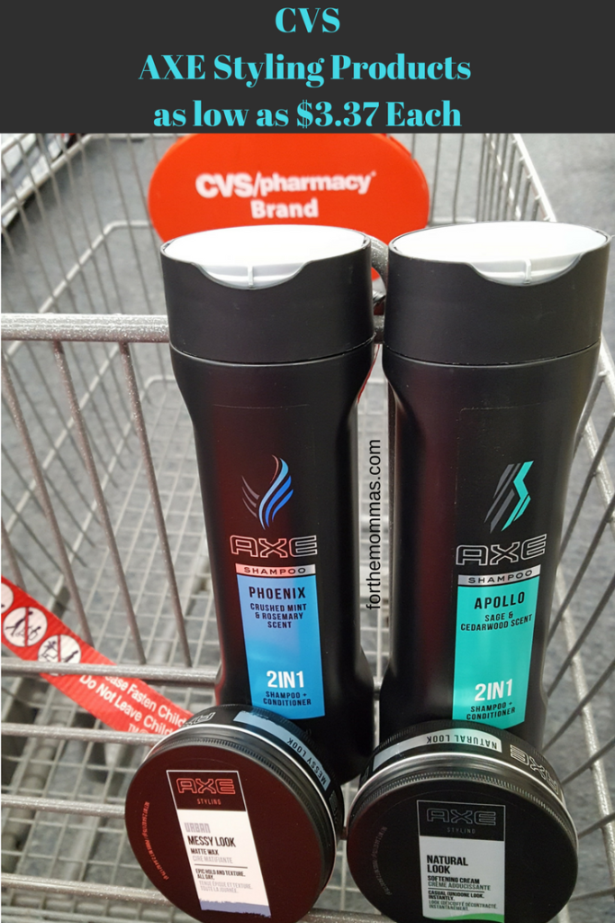 Cvs Axe Men S Hair Styling Products As Low As 3 37 Each Starts 3 18 Axe Hair Products Hair Styles Mens Hairstyles