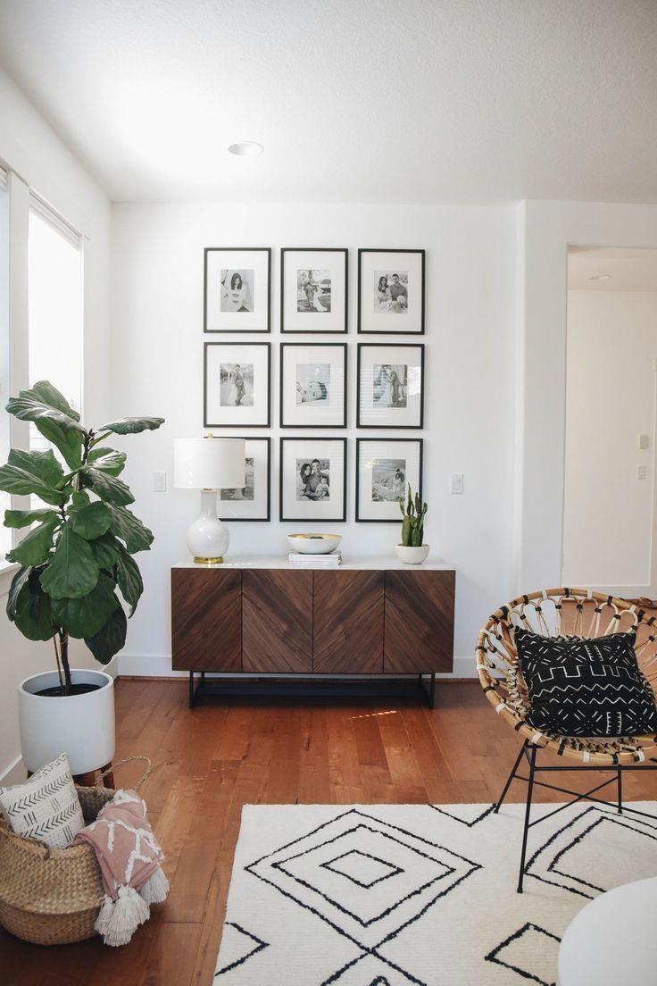 3x3 Gallery Wall Diylivingroom Gallery Homedecorstagingandinteriordesign Diy Living Room Decor Affordable Living Room Furniture Living Room Diy