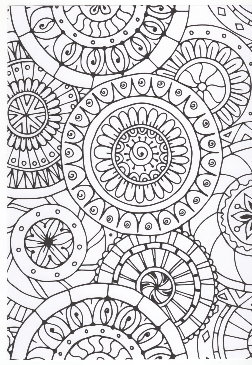 Pin By Jackie Carstens On Mandalas Abstract Coloring Pages Doodle Patterns Pattern Coloring Pages