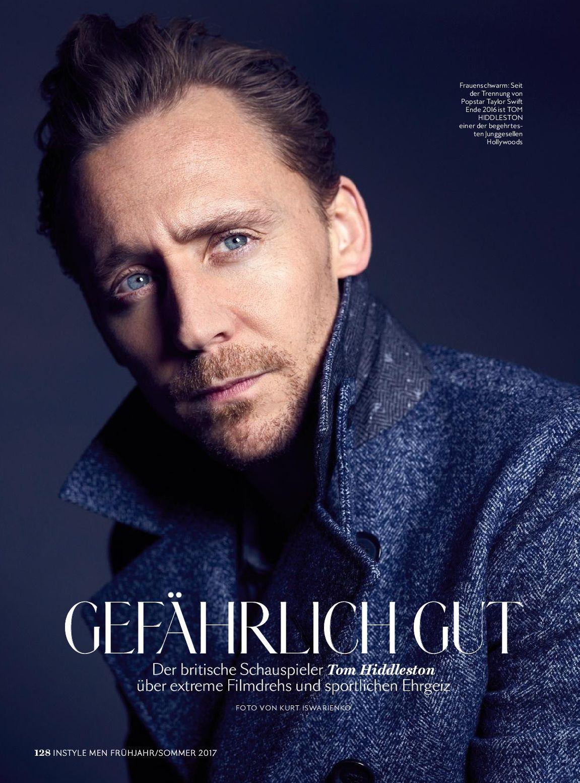 InStyle Men (April 2017) - 001 - Photo Gallery · Tom Hiddleston Fans | Tom Hiddleston Fans ∙ Your fan source for everything Tom Hiddleston