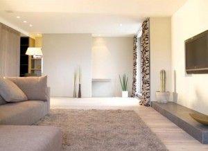 muren grijs en beige - google zoeken | interieurdeeen | pinterest, Deco ideeën
