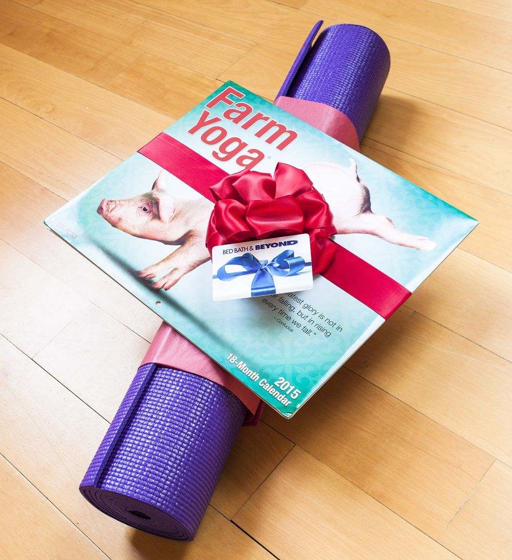 For a yoga guru Namaste all the way to the perfect gift