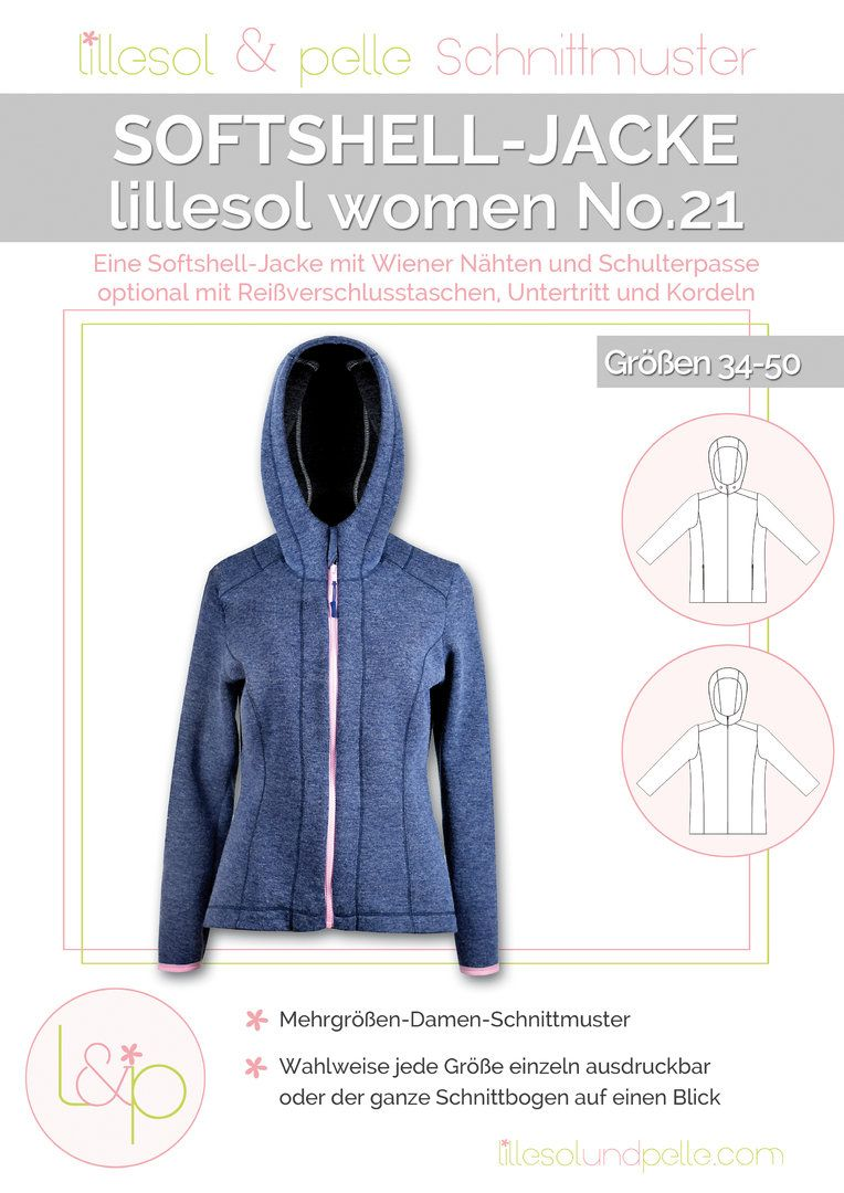 Ebook Sarooja Sweatjacke für Damen Gr. XS 4XL