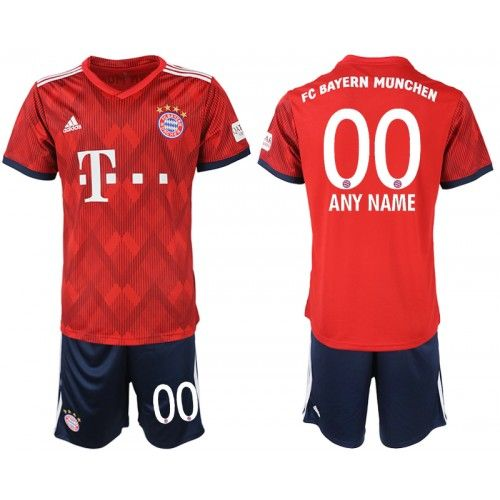 Best Custom 2018-19 Football Kits FC Bayern Munchen Home Red Football Jersey c5586c78cea35