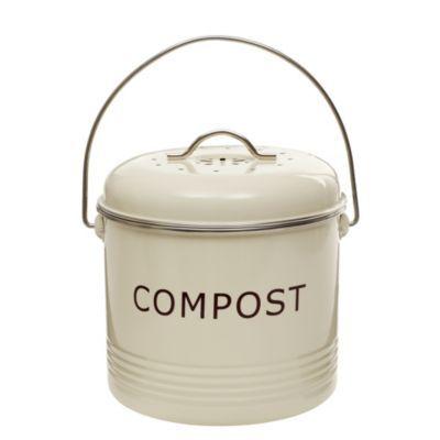 Komposteimer, cremefarben Küche Pinterest Tabletop and Kitchens - komposteimer für die küche