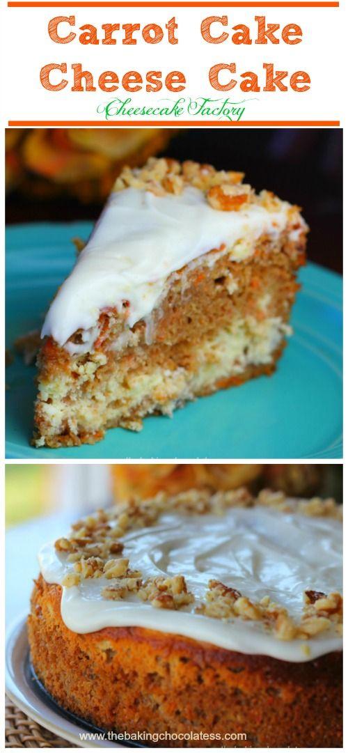 Cheesecake Factory Carrot Cake Cheesecake Recipe Decadent