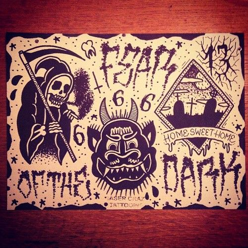 Happy Halloween Gaser142 Tattoo Tattoos Traditionaltattoo Oldschool Oldschooltattoo 666 Art Traditionnel De Tatouage Art Flash Tatouage Dessin Tattoo
