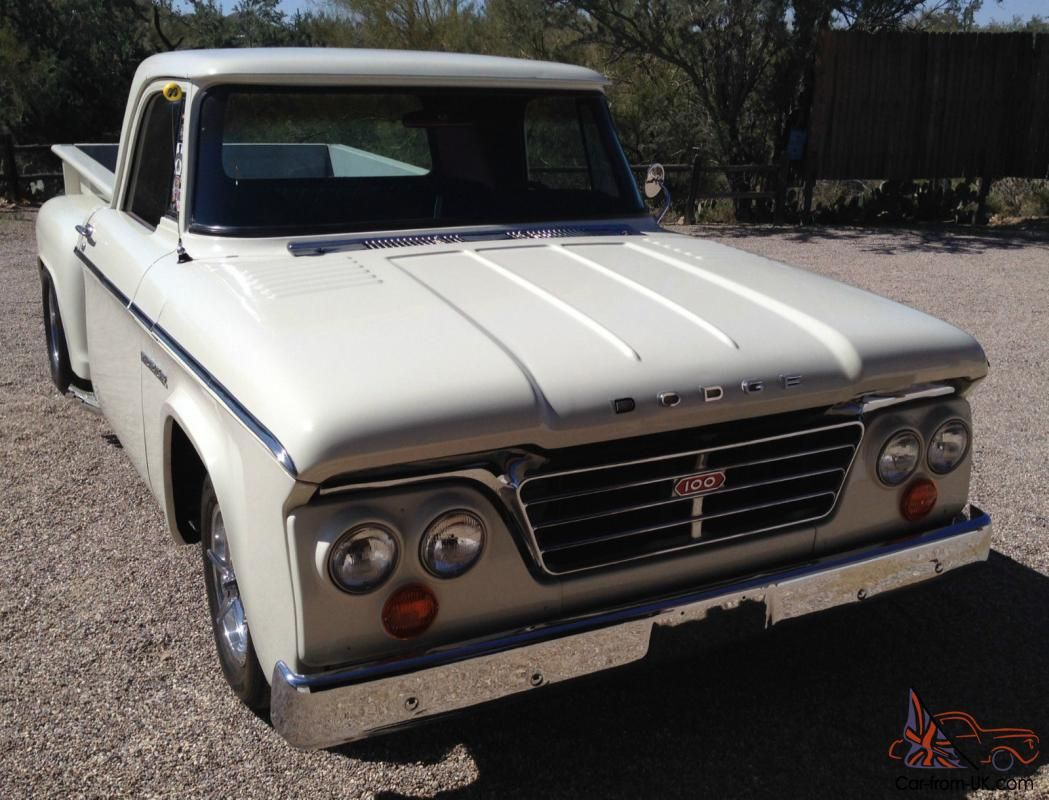 1965 dodge d 100 short bed stepside pickup truck maintenance restoration of old vintage vehicles the material for new cogs casters gears pads could be cast  [ 1049 x 800 Pixel ]