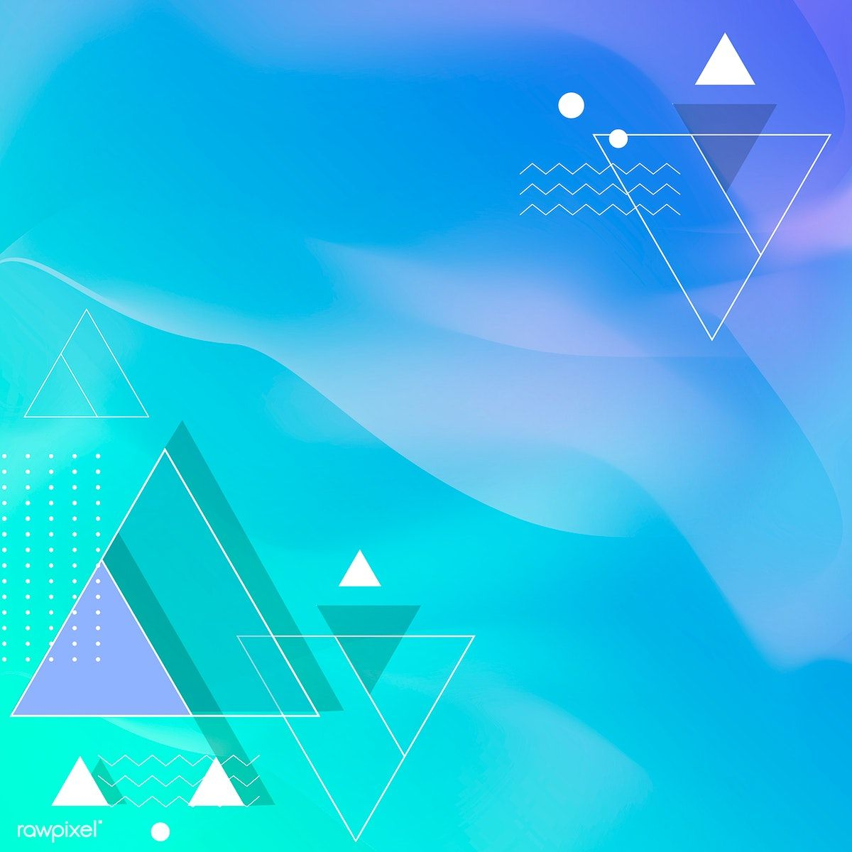 Gradient Geometric Abstract Background Vector Free Image By