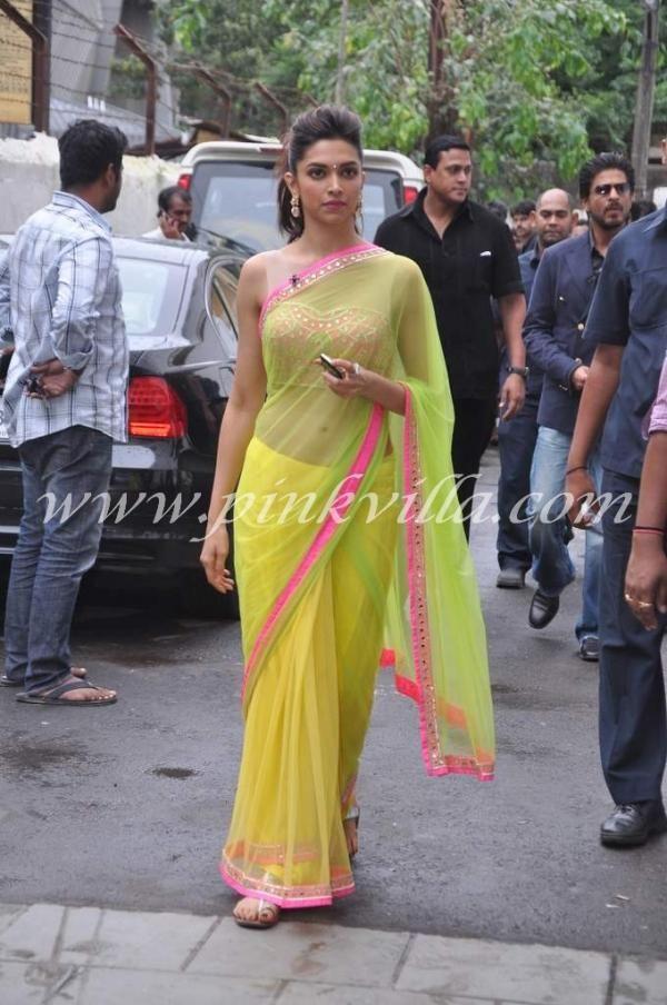 Shahrukh Khan & Deepika Padukone promote Chennai Express ...