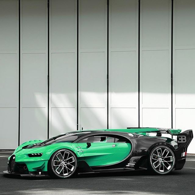 Bugatti Vision GT color change! • Follow @StickerCity ...