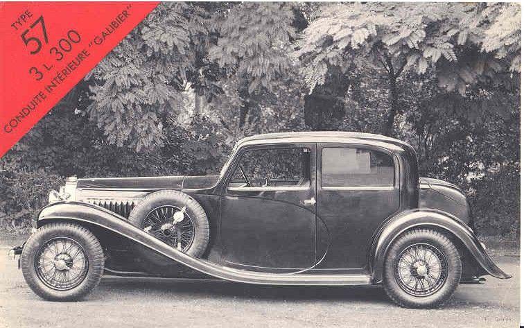 Bugatti T57 1st series Galibier