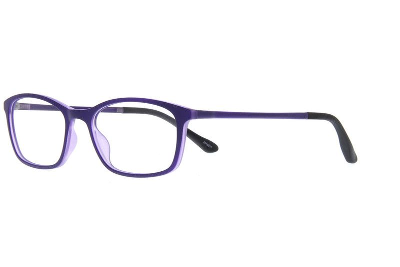 80c24d72843 Purple Rectangle Eyeglasses  2015017