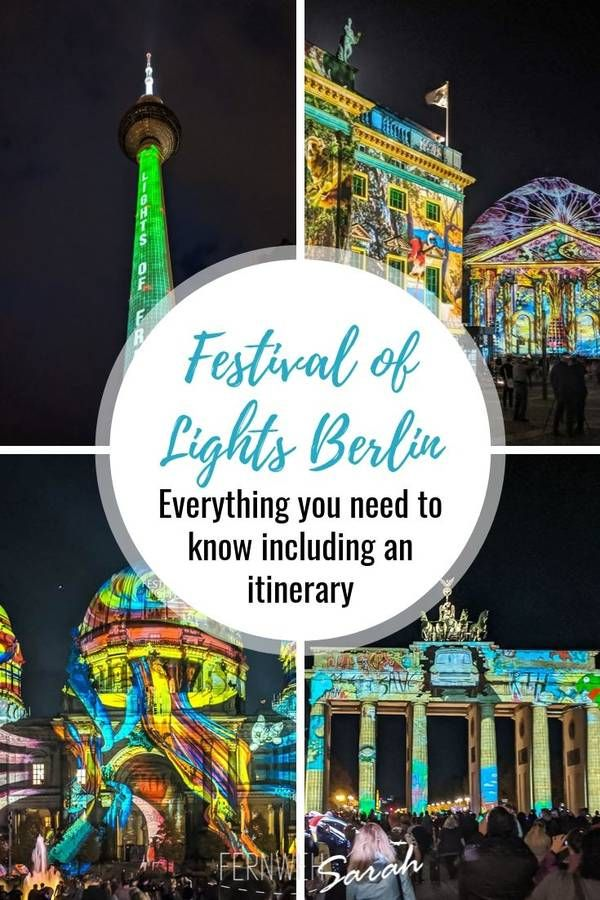 Festival of Lights Berlin – everything you need to know! ⋆ Fernwehsarah
