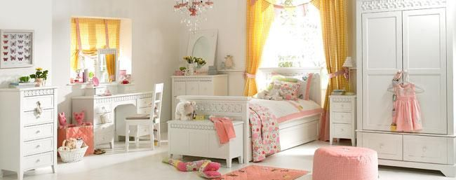 Daisy Brambles White Childrens Bedroom Furniture | Little Lucy Willow UK