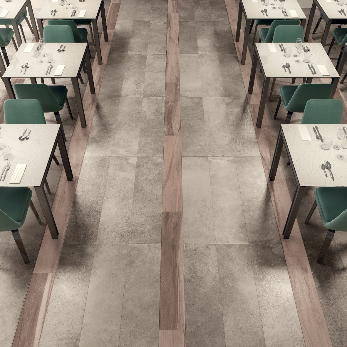 Tile For Restaurant Kitchen Floors Floor Crossover Abkemozioni Unika Ecru Soleras Avana Ceramic