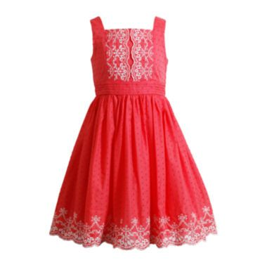 e7062def94180 Emily West® Sleeveless Embroidered Dress – Girls 7-16 found at  JCPenney