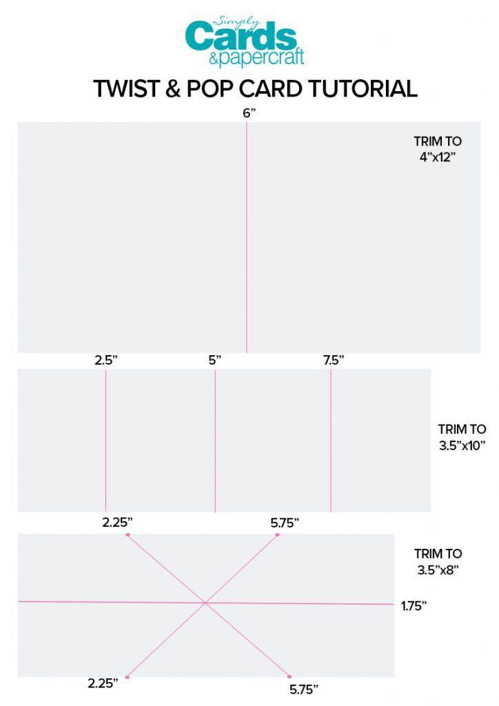 Twist Pop Card Video Tutorial Simply Cards Papercraft Magazine Pop Up Card Templates Twist Pop Pop Up Cards