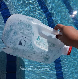 Diy whale milk jug kid 39 s craft great for water play - Sassydeals com ...
