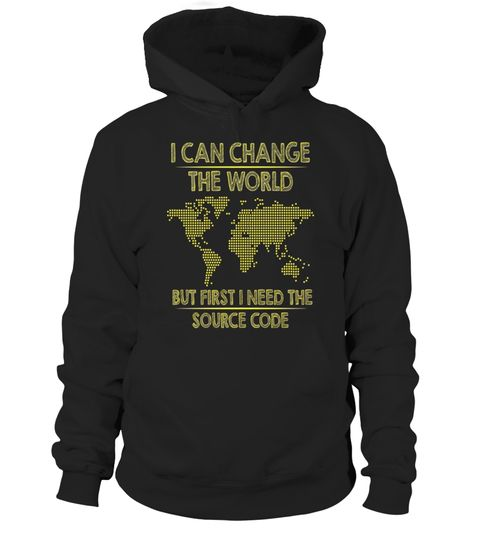 Source Code to Change The World Programmer Unisex Sweatshirt tee