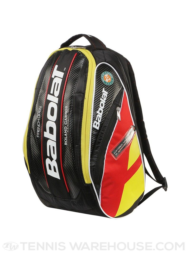 Babolat Pure Aero French Open Backpack Bag Backpack Bags Tennis Backpack Bags