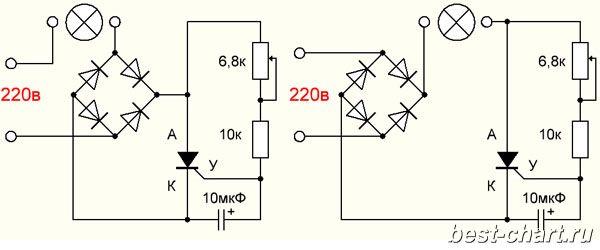 Симисторный регулятор мощности - Сделай сам своими руками