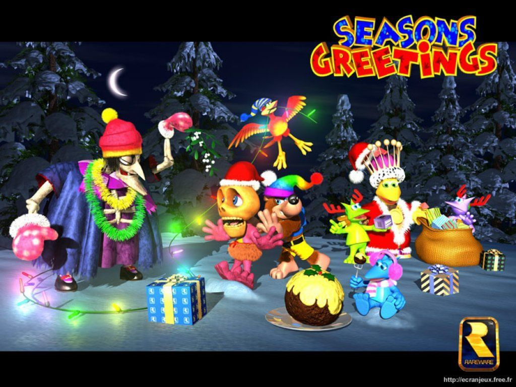 Banjo-Tooie Christmas Photo | Holidays | Pinterest | Banjo ...